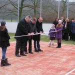 Slávnostné otvorenie multifunkčného ihriska v ZŠ Volkovce